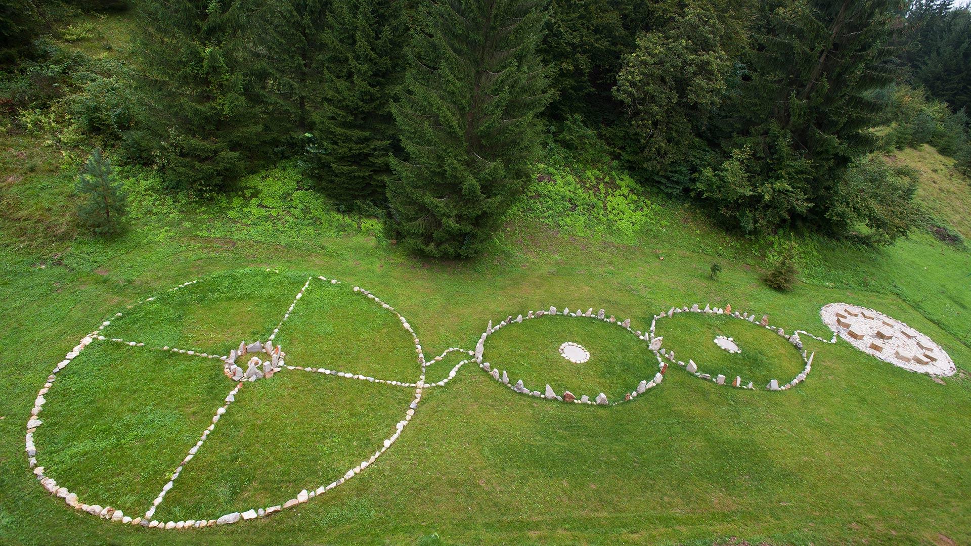 natural healig park, energijski park