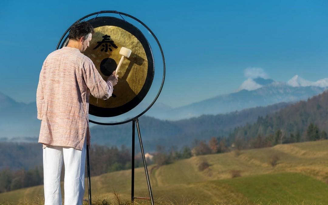 Zvočna kopel z velikim gongom