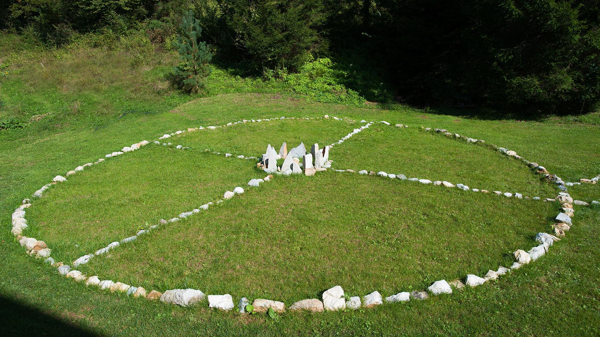 energijski park Manas, natural healing park, energijske točke
